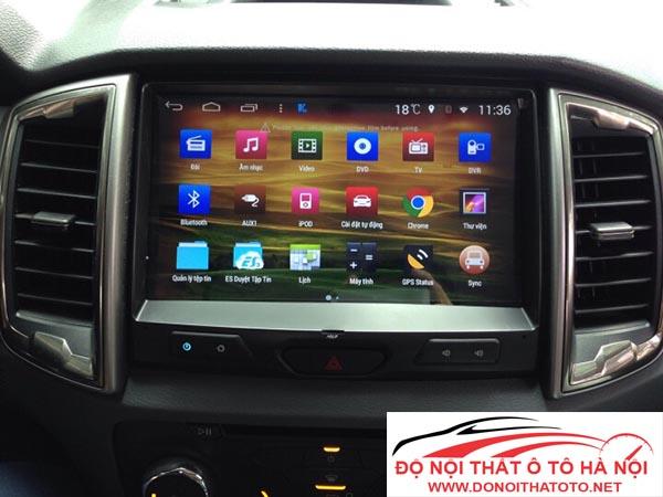 Đầu màn hình DVD Android xe Ford Ranger Phiên bản mới