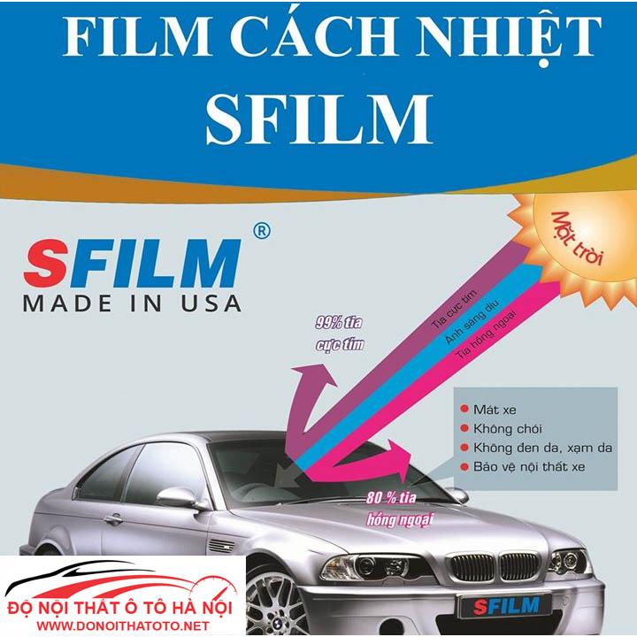 Bảng giá phim cách nhiệt S-Film