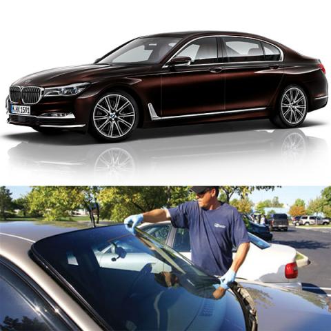 Thay KÍNH XE BMW 750LI  Cao Cấp Gía rẻ Tại Hà Nội
