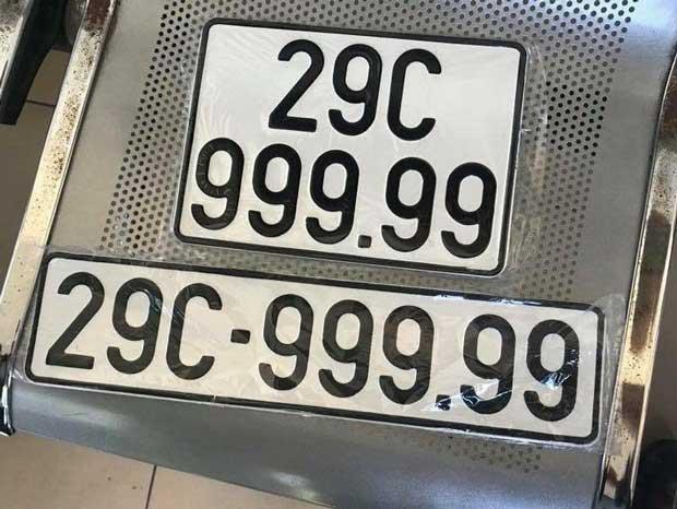 Biển số xe ô tô Hà Nội